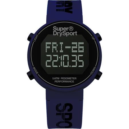 Superdry極度乾燥 街巷行頭運動腕錶-SYG203U