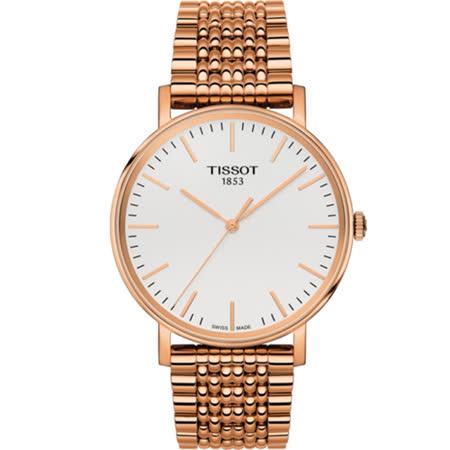 【TISSOT 天梭】Everytime 簡約經典時尚腕錶(T1094103303100)