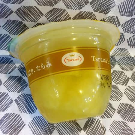 日本Tarami 鳳梨椰果鮮果肉果凍230g/個