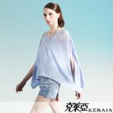 【克萊亞KERAIA】微透鏤空空花寬版上衣