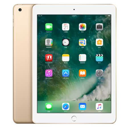 Apple iPad 128GB Wi-Fi 平板電腦 _ 台灣公司貨 (MPGW2TA/A) - 金
