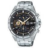 【CASIO】EDIFICE 都會時尚三眼指針腕錶(EFR-556D-1A)
