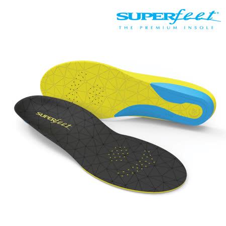 【美國SUPERfeet】運動輕薄彈性鞋墊