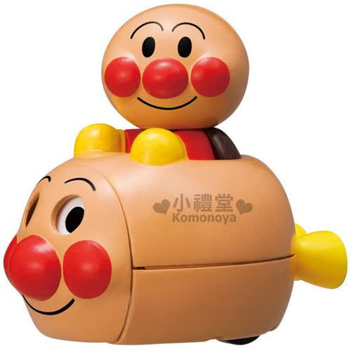 〔小禮堂嬰幼館〕麵包超人 迴力車玩具~小.棕.大臉~ 3歲以上兒童