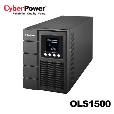 CyberPower Smart App Online S UPS 系列 在線式不斷電系統 OLS1500