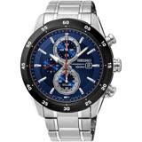 SEIKO精工 Criteria 太陽能計時腕錶-藍/42mm V176-0AR0B(SSC533P1)