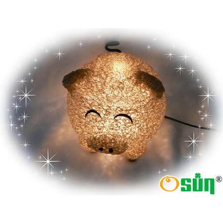 【Osun】開運黃金豬擺飾燈六入組 / 小夜燈 桌燈 擺飾燈 禮贈品 台灣製(CE-130)