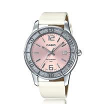 CASIO 卡西歐 氣質皮錶帶指針數字淑女錶 LTP-1359SL-4A