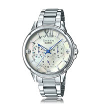 CASIO 卡西歐 SHEEN 時尚奢華晶鑽女錶 SHE-3056D-7A