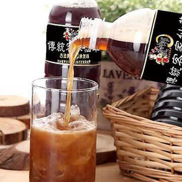 瘋神邦 傳統客家 仙草茶 無糖  低GI 500CC瓶X16瓶裝
