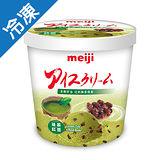 明治抹茶紅豆冰淇淋 728G/桶