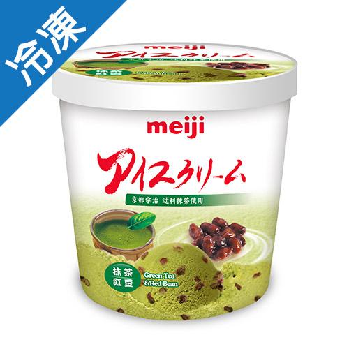 明治抹茶紅豆冰淇淋 728G桶