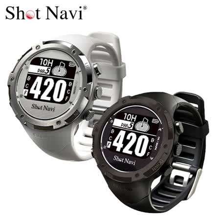 Shot Navi W1-GL 高爾夫GPS定位錶 原廠代理公司貨 二色可選