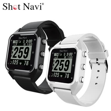 Shot Navi HuG 心率偵測GPS高爾夫手錶 公司原廠貨  可充電 黑白兩色可選