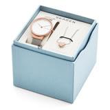SKAGEN Ancher 時尚戀人晶鑽套錶 SKW1086