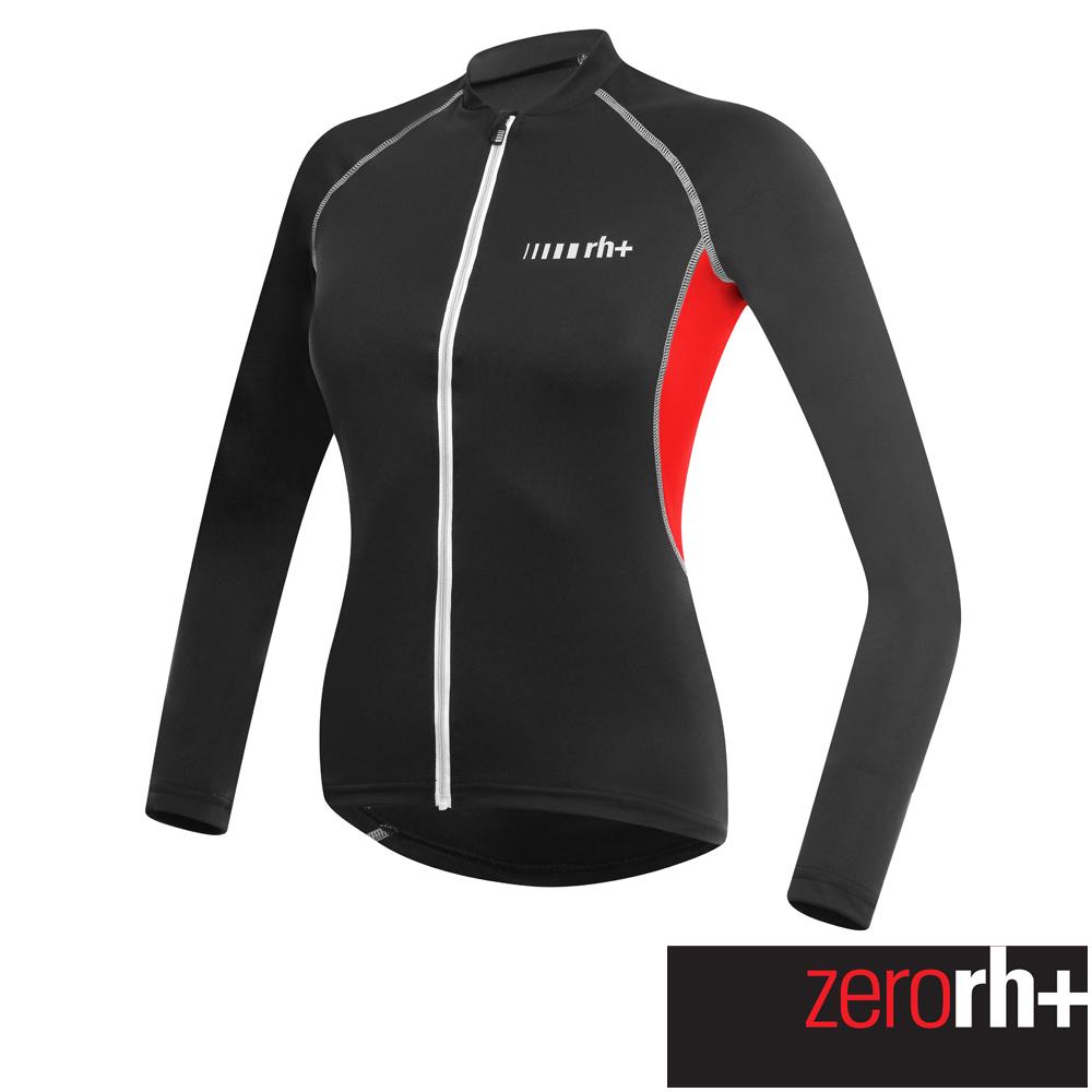 ZeroRH 義大利SPIRIT 長袖自行車衣  女  ~黑紅、黑白、粉紅~ ECD047