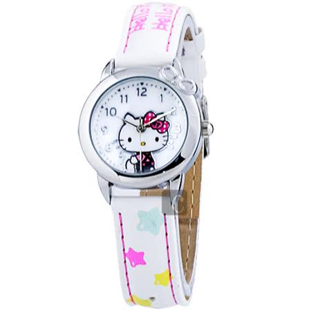 HELLO KITTY 星星時光手錶/女錶/童錶-28mm HKFR1363-01C