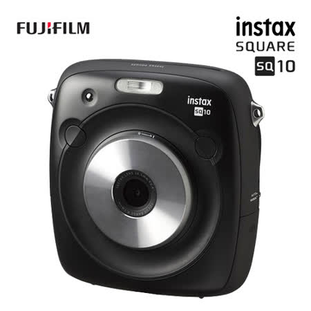 FUJIFILM instax SQUARE SQ10 數位拍立得相機底片盒組(公司貨)-送底片一盒+專用電池+專用座充