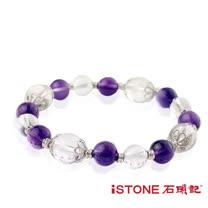 石頭記 紫水晶招貴人轉運珠-美夢成真