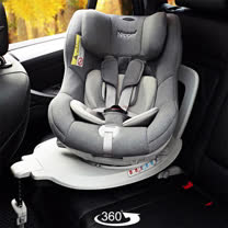 Nipper First Class 360度 ISOFIX 兒童汽車安全座椅/三色(贈尿布收納袋+夢特嬌休閒毯禮盒)