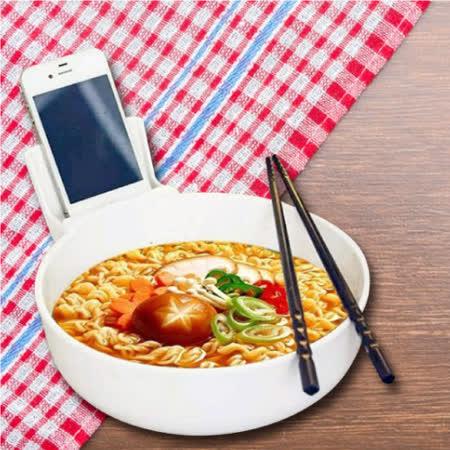 Lestar 創意手機泡麵碗
