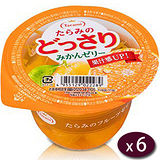 日本Tarami 柑橘鮮果肉果凍6入/盒(230g/個)