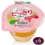 日本Tarami白桃鮮果肉果凍6入/盒(230g/個)