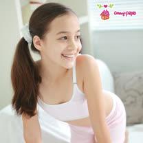 【Anny pepe】精梳美國純棉女童成長型內衣 任選3件組