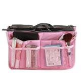 【團購】雙拉鍊加厚袋中袋 多隔層收納袋 2入組 (EB060)