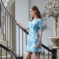 【克萊亞KERAIA】高雅立體緹花洋裝