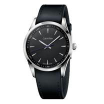 瑞士 Calvin Klein 經典時尚皮帶腕錶男 K5A311C1