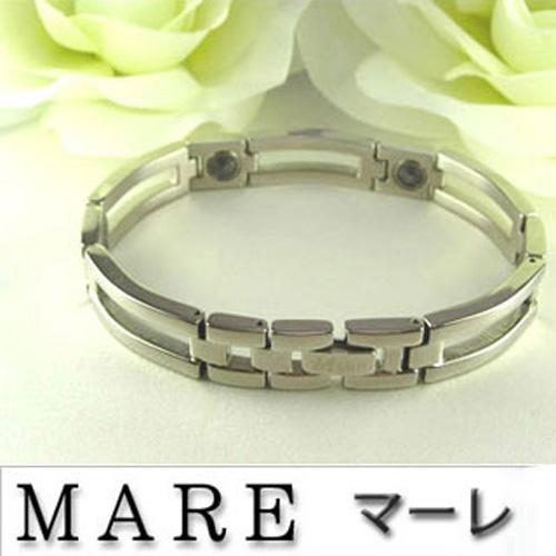 【日本 MARE】型男當道 銀色 純鈦/奈米鈦遠 百 餐廳脕鍊