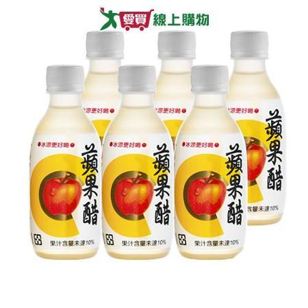 百家珍蘋果健康醋280ml*6入
