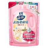 毛寶衣物柔軟精補充包-溫暖花香1900g