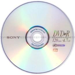SONY 16X DVD+R 100片