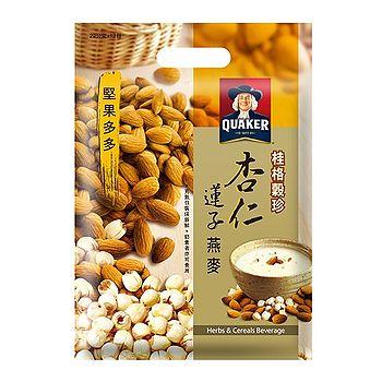 桂格穀珍堅果多多-杏仁蓮子燕麥28g*12入/ 袋