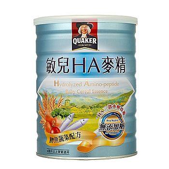 桂格敏兒HA麥精-魚蔬菜配方700g