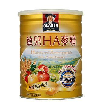 桂格敏兒HA麥精-五種水果配方700g