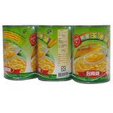 台鳳精選玉米醬410g*3入