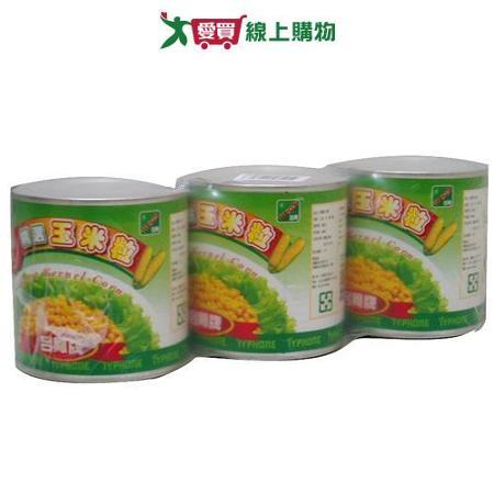 台鳳精選玉米粒340g*3入