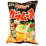 湖池屋辣姆久洋芋片82g