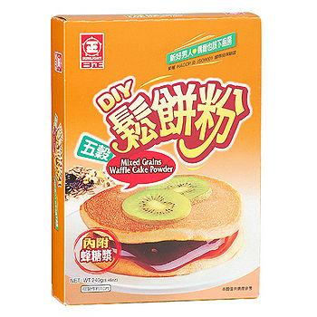 日正五穀鬆餅粉240G/盒