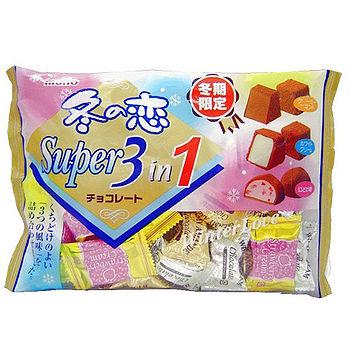 冬之戀3合1巧克力袋裝161g