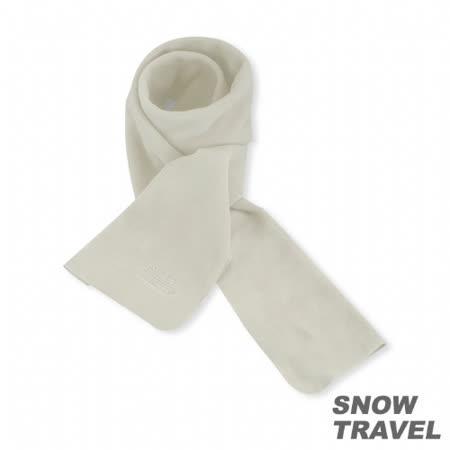 [SNOW TRAVEL] POLARTEC透氣保暖圍巾 (白色)