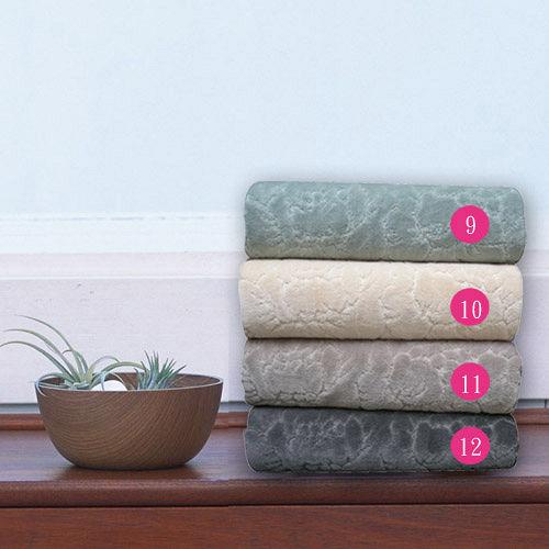 HOYA Style超柔純棉壓紋枕巾^(2入^)~暗色系