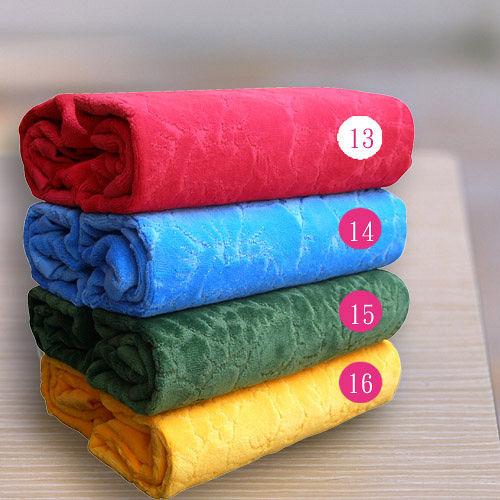 HOYA Style超柔純棉壓紋枕巾^(2入^)~亮色系