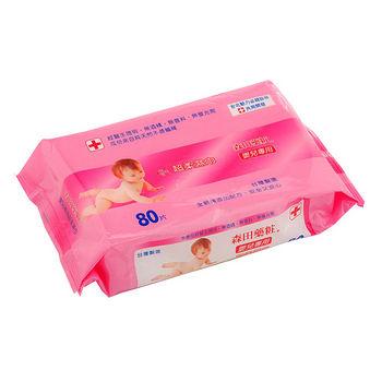 森田藥妝嬰兒專用超柔濕巾80張