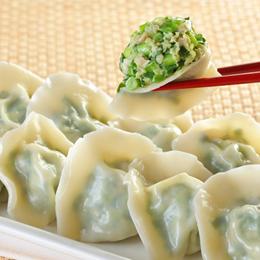 士東市場【123水餃】韭菜豬肉水餃10顆