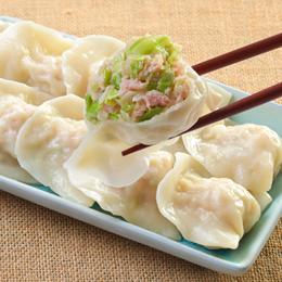 士東市場【123水餃】高麗菜豬肉水餃10顆