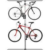 DISPLAY STAND 頂天立地高級合金自行車停車塔(賓士銀)